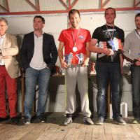 Podium F2000 Damien Quaire (ASA Dauphinoise) Champion