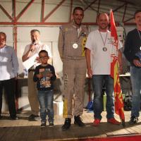 Podium Groupe A S.Bidaud (ASA Ain) 2ème
