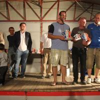 Podium Groupe F M Cotleur ASA Ain) et C d'Amico (ASA Savoie) 2ème et 3ème