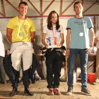 Podium jeunes Cindy Gudet (ASA ESCA) Championne