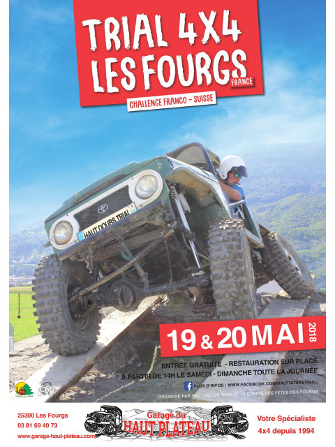 Trial 4X4 des Fourgs